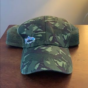Patagonia Camo Fitz Roy Trout Trucker Hat